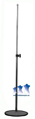 MS11 - Adjustable Mannequin Stand, Chrome ()