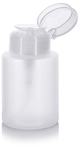 (One Touch Pump Dispenser Bottle with Flip Top Cap - 5.4 oz )