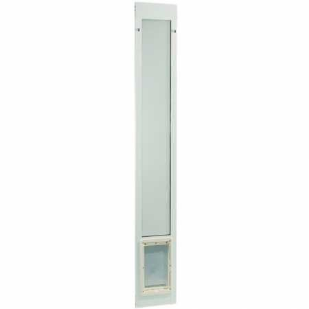 """Fast Fit Pet Patio Door 96"""" Medium (White) from Ideal Pet Products"""