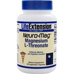 Life Extension Neuro mag Magnesium L threonate Dietary Supplements, 90 Capsules