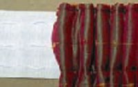 Woven Pocket Pencil Pleat Curtain Heading Tape. 3 wide by J A Milton