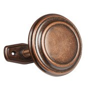 Kenney 5456679 Medallion Drapery Holdbacks, Brushed Sienna, -