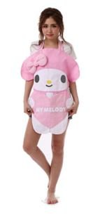 My Melody Applique Apron New From Japan - Ala Moana Outlet