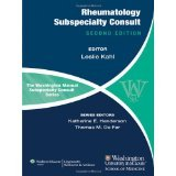 img - for The Washington Manual of Rheumatology Subspecialty Consult [PAPERBACK] [2012] [By Leslie Kahl] book / textbook / text book