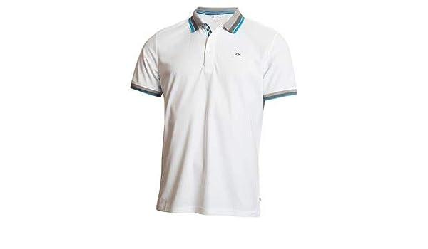 Calvin Klein 2019 - Polo para Hombre (Talla L), Color Azul: Amazon ...