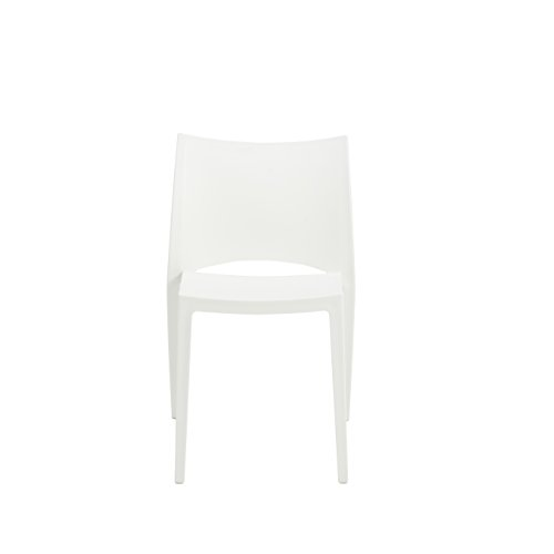 Eur Style Leslie Indoor Outdoor Side Dining Chair