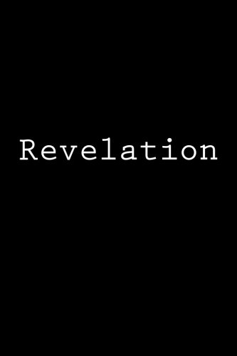 Revelation: Notebook, 150 lined pages, glossy softcover, 6 x 9 por Wild Pages Press