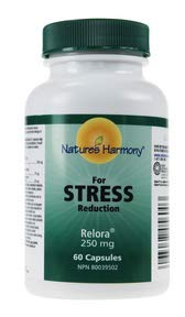 Nature's Harmony Relora 250mg, 60 caps by Nature's Harmony