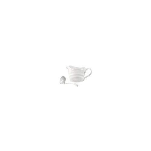 Portmeirion Sophie Conran White Mini Sauce Jug and Ladle Set (633094)