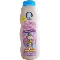 Gerber Grins & Giggles Baby Wash for Hair & Body - Milk & Honey 15 Fl. Oz. by Gerber Graduates