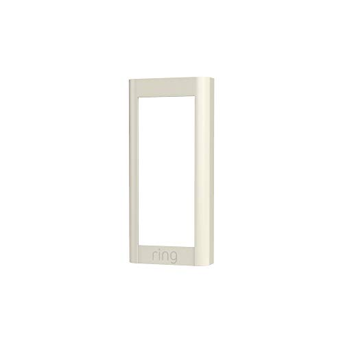 Ring Video Doorbell Wired (2021 free up) Faceplate - Pearl White