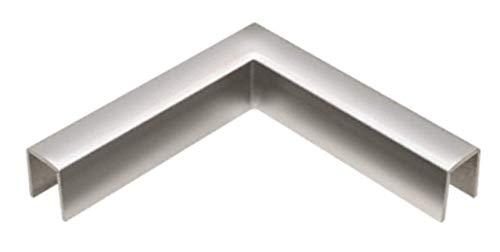 CRL GRLC10HPS Polished Stainless 90 Degree Horizontal Corner for 11 Gauge Crisp Corner Cap Railings