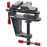 (Tanjin Mini Table Clamp Small Bench Vice Jewelers Hobby Clamps Craft Repair Tool Portable Work Bench Vise)