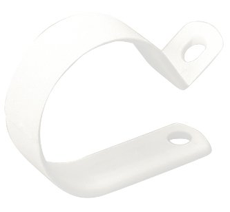 Cuff Tubing (Gardner Bender Cable Clamps - 120-Count (1/2 Inch White))