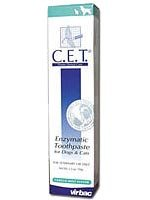 Virbac C.E.T. Enzymatic Toothpaste, Tartar Control, Seafood Flavor, 2.5 - Control Tartar Enzymatic Toothpaste