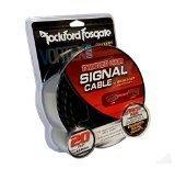 4) Rockford Fosgate RFI-16 16' Ft Twisted 2 Ch RCA Car Audio Signal Cables RFI16