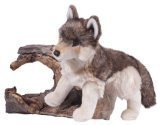 (Douglas Cuddle Toys Smoke Wolf Plush Toy 18