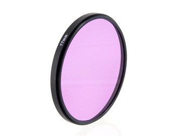 Massa 77mm UV Filter Lens for Camera (Purple) + Worldwide free shiping (Focal Camera Lens)