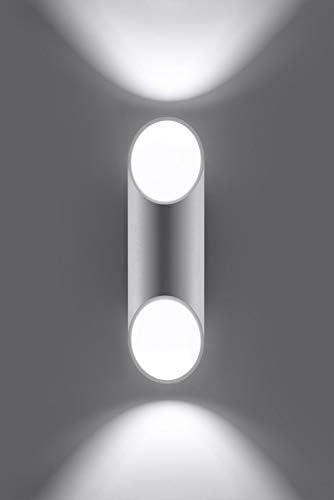 Sollux Lighting Penne 30 Applique murale Aluminium Blanc