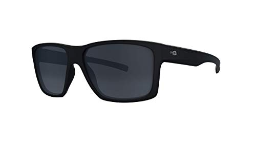 Óculos de Sol HB Freak Matte Black Polarized Gray