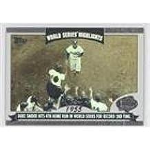 Duke Snider (Baseball Card) 2004 Topps - World Series Highlights #WS-DS