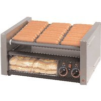 Star Mfg Grill-Max Roller 30-Hot Dog Grill w/ Clear Door