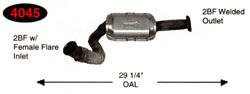 Direct Fit EPA Catalytic Converter Catco 4045 Federal