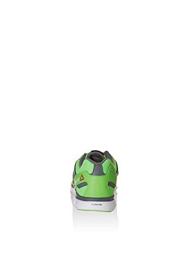 Reebok Herren Sublite XT Cushion MT Laufschuhe, Schwarz Grün / Grau / Weiß (Solar Green/Alloy/White)