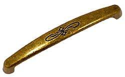 CLASSIC HARDWARE CL-101070.09 3.78-Inch AB Pull, Dark Brass (Marella Classic Bosetti Hardware)