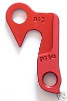 Pilo D13 Red Derailler Hanger - Fits: Haro Extreme, Merida, Carrera, KHS, Pedal Power by Pilo