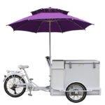 Electric Powered Ice Cream Tricycle, ice Cream Bike