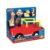 zoo talkers safari truck - Little People Animal Sounds Safari Truck with Bonus Monkey Figure