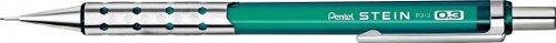 Pentel Ain - Portaminas, 0,3 mm, color Clear Green