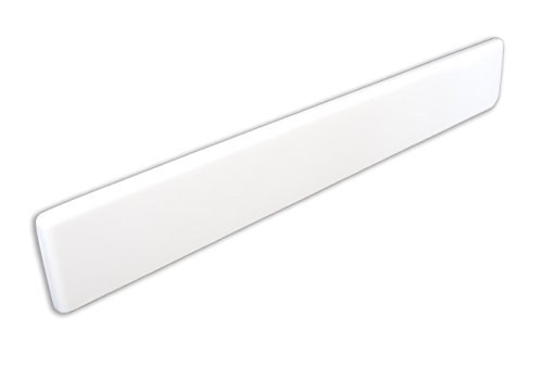 Imperial VL100SPW Left Hand Side Splash for Bathroom Vanity Top, Solid White Gloss Finish, 22-Inch (Vanity Bathroom Imperial Tops)