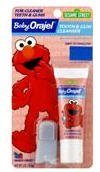 Baby Orajel Sesame Street Tooth & Gum Cleanser, Flouride Free, Mixed Fruit, 1 OZ (PACK OF 2)