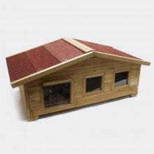 Große Hundehütte oder Hütte für Katzen oder kleine Hunde