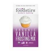Foodstirs Organic Vanilla Frosting Mix 7.2 Ounce