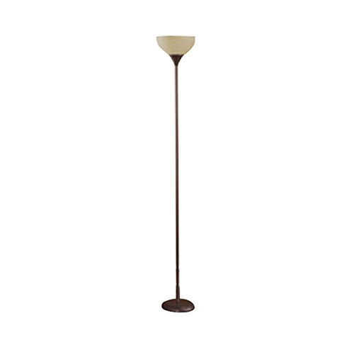 "Mainstays Floor Lamp, Brown, 71"" Tall"