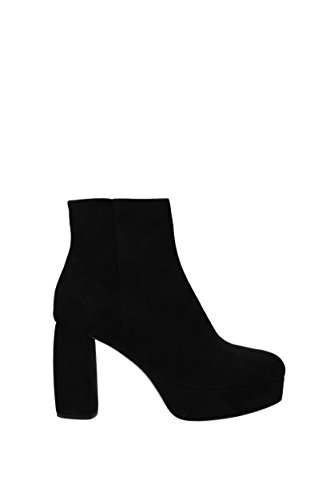 Miu Miu Ankle Boots Women - Suede (5TP204CAMOSCIO3) UK Black