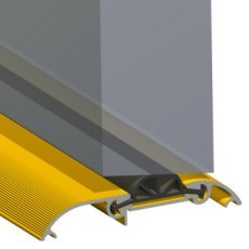 Stormguard CDX Mobility silla con ruedas para puerta de transición en alféizar de burlete de goma con cierre 83,82 cm dorado: Amazon.es: Bricolaje y ...