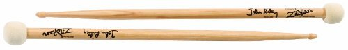 The Zildjian John Riley Double Stick-Mallet combines the acclaimed bead of the John Riley Artist Series Drumstick and the popular seamless felt mallet head. Made with select U.S. hickory. -
