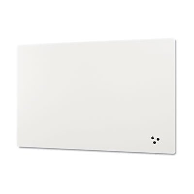 Elemental Frameless Markerboard, Porcelain Steel, White Glossy, 72 x 48 x 1/8, Sold as 1 Each by Best-Rite