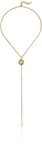 Lucky Brand Gold Openwork Y Necklace