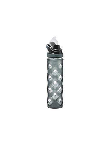 (Eddie Bauer Unisex-Adult Blocktagon Bottle - 22 oz, Smoke Regular ONESZE)