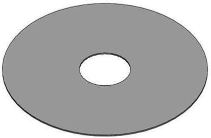 80cm Aussen 20cm Innen SMOKI R/äuchertechnik Massive Grillplatte//Feuerplatte 5mm dick