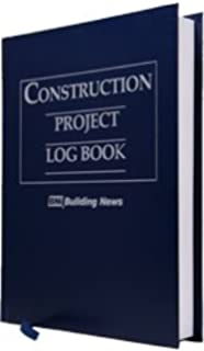amazon com construction project log book 9781557014252 books
