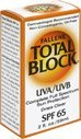 Total Block Clear Sunblock Uva/uvb SPF 65 Clear, 2.0 Oz (2 Pack)