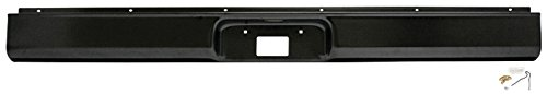 IPCW CWRS-73CK Roll Pan (1973-1987 Chevrolet Chevy CK C-10 Pickup / 1973-1987 GMC Truck CK Steel With License Plate Inset Hole and Lighting Kit)