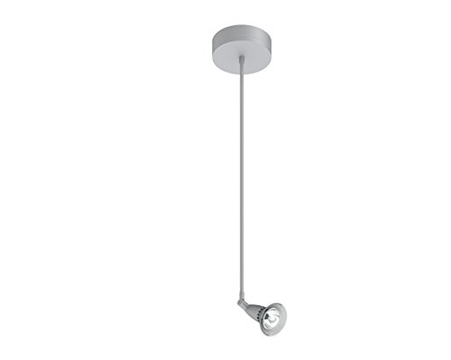 (Prima Lighting 963-00-1122-F-SV-24 Bruford Track Head, Small, Polish Chrome/Frosted Glass Shade)