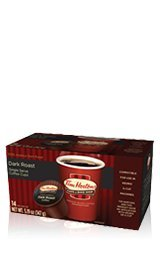 Tim Hortons Dark Roast Single Serve Coffee Cups, 96 Count (Packaging May Vary)